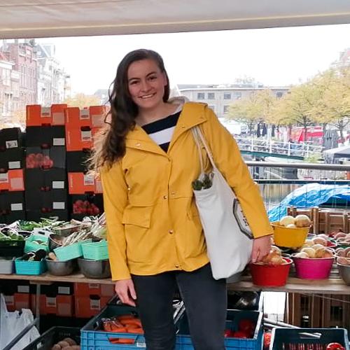 Eline markt groenten boodschappen Leiden